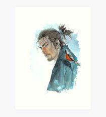 Lámina artística Vagabundo - Musashi Miyamoto
