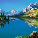 North America Landscape by Ldarro