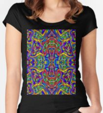 PATTERN-785 Women's Fitted Scoop T-Shirt