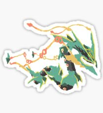 Owain's Deoxys (No outline on streams) Sticker