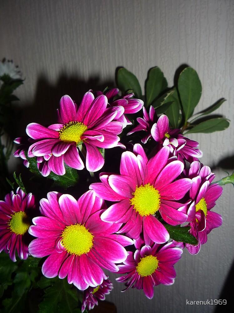 Vivid Floral Display by karenuk1969