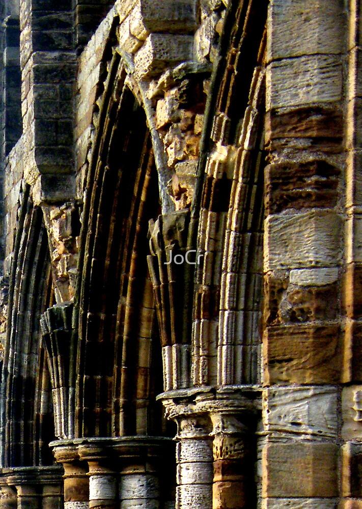Whitby Abbey x5 by JoCr