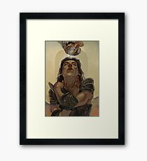 Knight of Cups Framed Print