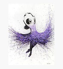 French Lavender Dance Photographic Print