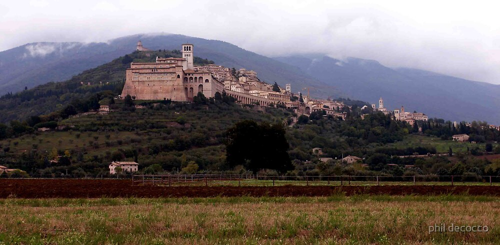 Bella Assisi by phil decocco