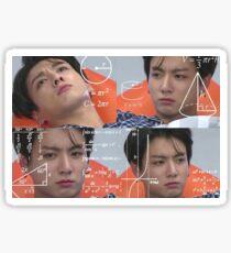 Jungkook meme Sticker