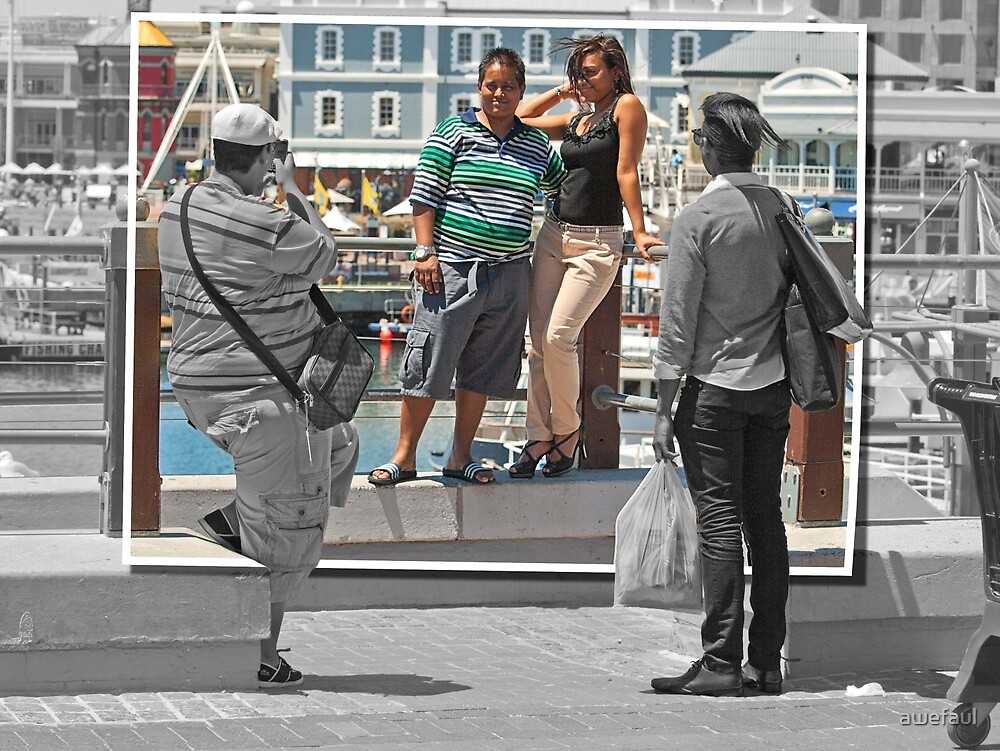 The photographer, his models and a witness by awefaul