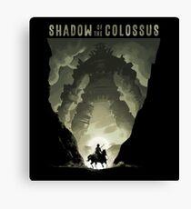Shadow of the Colossus - Gaius Canvas Print