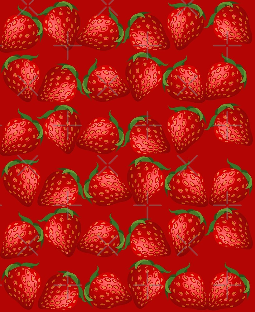 Strawberries and More Strawberries by CarolM
