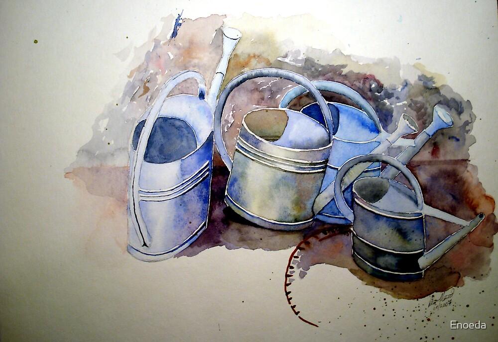 Watering Cans by Enoeda