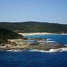 Scenic Beauty - Wyrrabalong National Park, Central Coast, NSW, Australia.  by Of Land & Ocean - Samantha Goode