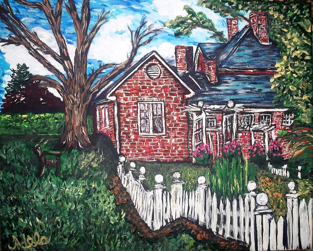"""""""Montpelier Mansion"""" by Adela bellflower"""