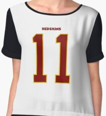 Alex Smith Washington Redskins Chiffon Top