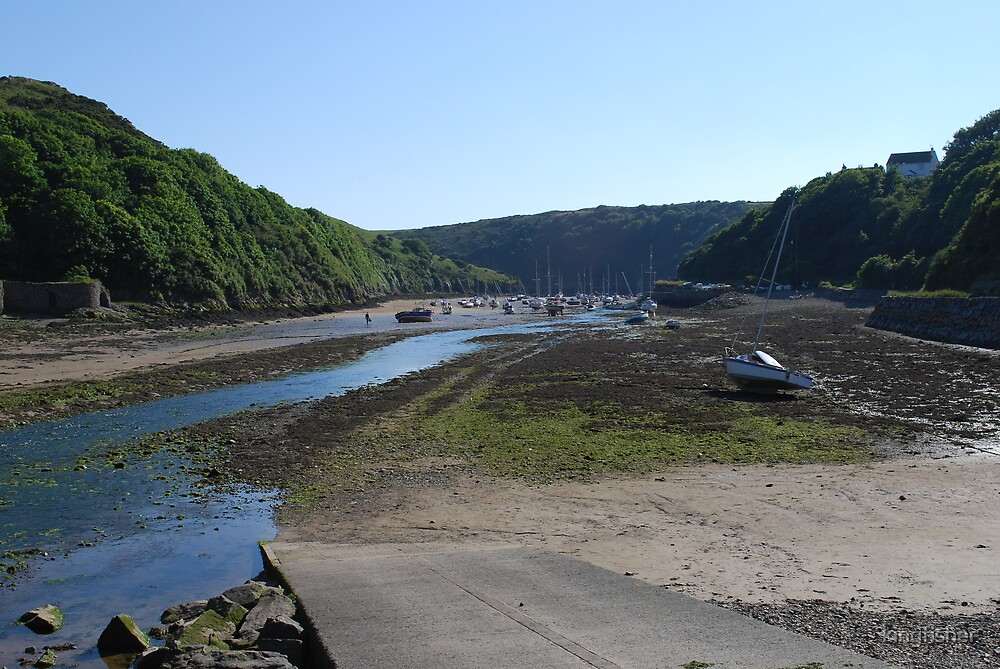 Solva, Pembrokeshire, West Wales by kingfisher