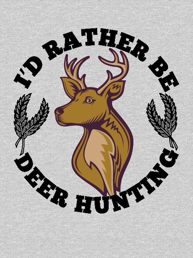 Deer Hunting T Shirt Cool Deer Hunter Tee Unisex T Shirt By