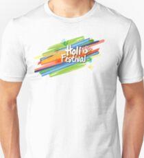 HAPPY HOLI FESTIVAL Tshirt For Kids Women And Men Unisex T-Shirt