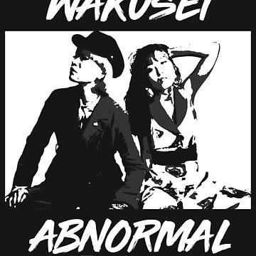 Wakusei Abnormal - 惑星アブノーマル (B&W) by PitadorBoy