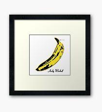Andy Warhol Banana Velvet Underground Framed Print
