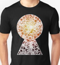 Kingdom Hearts - Keyhole (orange) T-Shirt