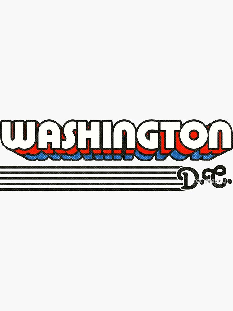 Washington, DC | Rayas retro de retroready