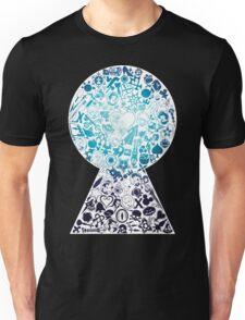 Kingdom Hearts - Keyhole (blue) Unisex T-Shirt