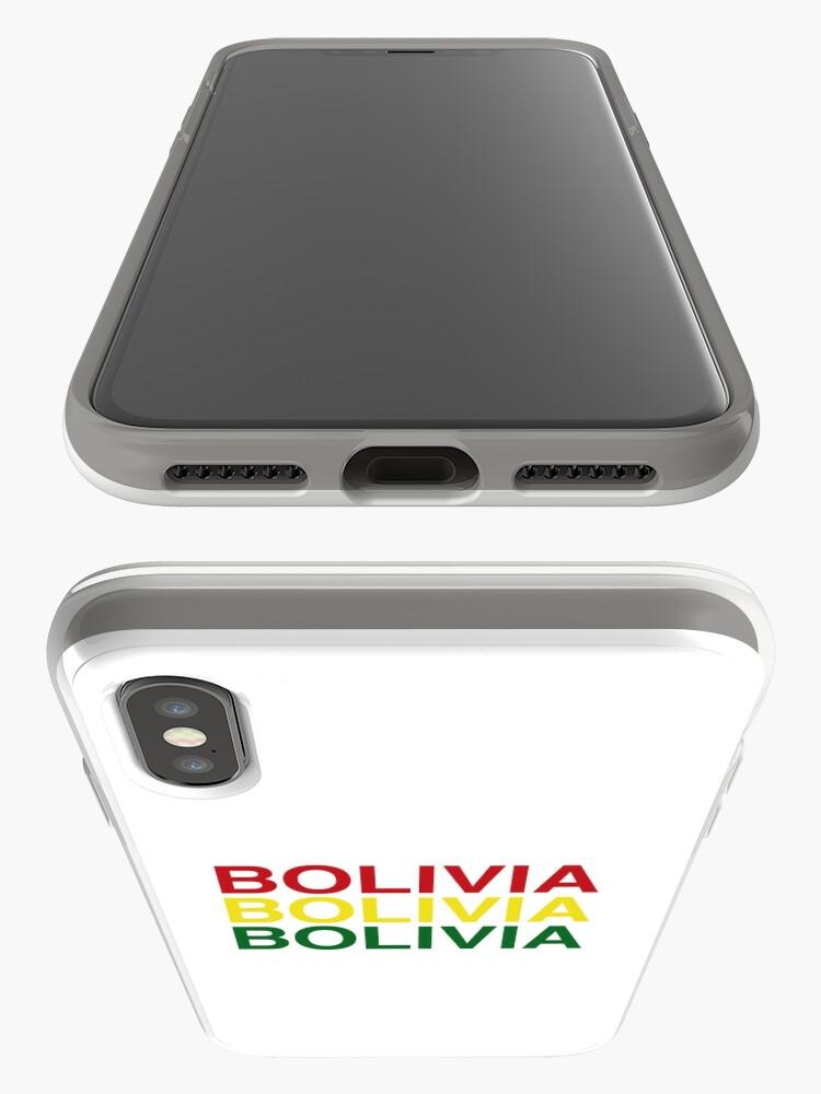 Alternative Ansicht von BOLIVIA iPhone-Hülle & Cover