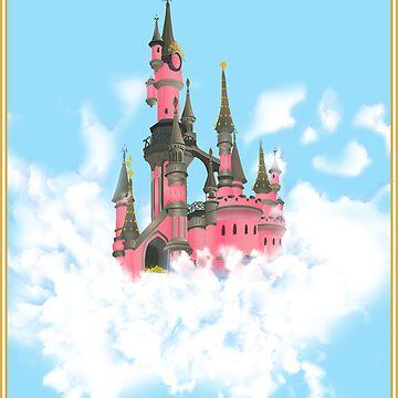 Castle on a cloud by LaurenFinn