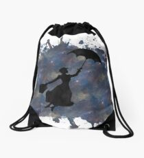 Mary Poppins Drawstring Bag