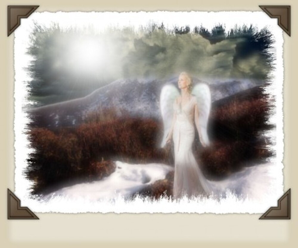 angel in the mist by silvergirl12