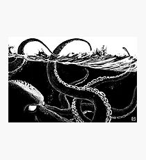Kraken Rules the Sea Photographic Print