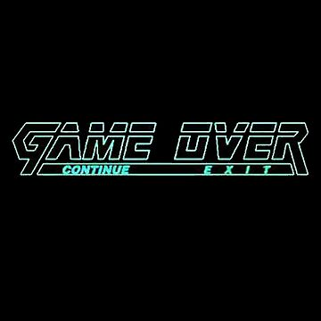 Metal Gear Solid Snake - Game Over Screen by APerspective