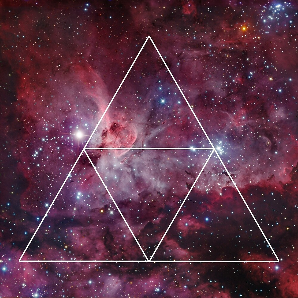 """Triangle Nebula Galaxy Design "" by Nathan Southard ..."