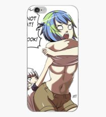 Earth chan iPhone Case