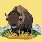 The Bison Are Back by Ardis Cheng