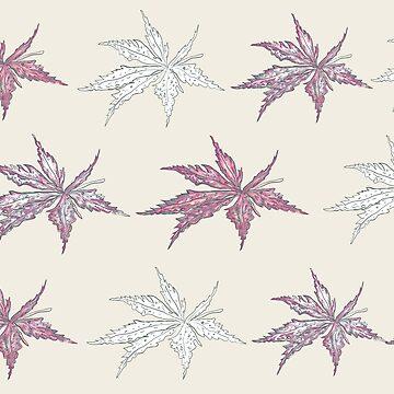 foliage pattern by jackpoint23