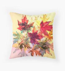 fallen leaves III Throw Pillow