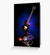 Power Cords Greeting Card