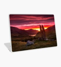 Praying in the Valley of the Sun God Laptop Skin
