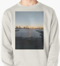 Street, City, Buildings, Photo, Day, Trees, New York, Manhattan, Brooklyn Pullover