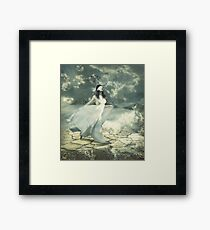 Full Of Gracefulness Framed Print