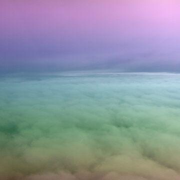 Rainbow Clouds by TheTimekeeper