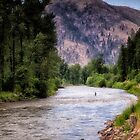 Rock Creek - Montana by Kathy Weaver