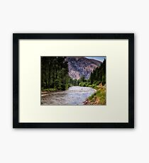 Lámina enmarcada Rock Creek - Montana