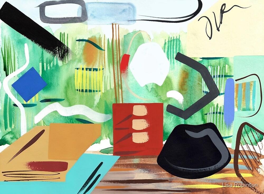 Abstract Interior #45 by Lisa V Robinson