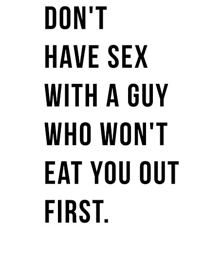 how to get a guy to eat you out