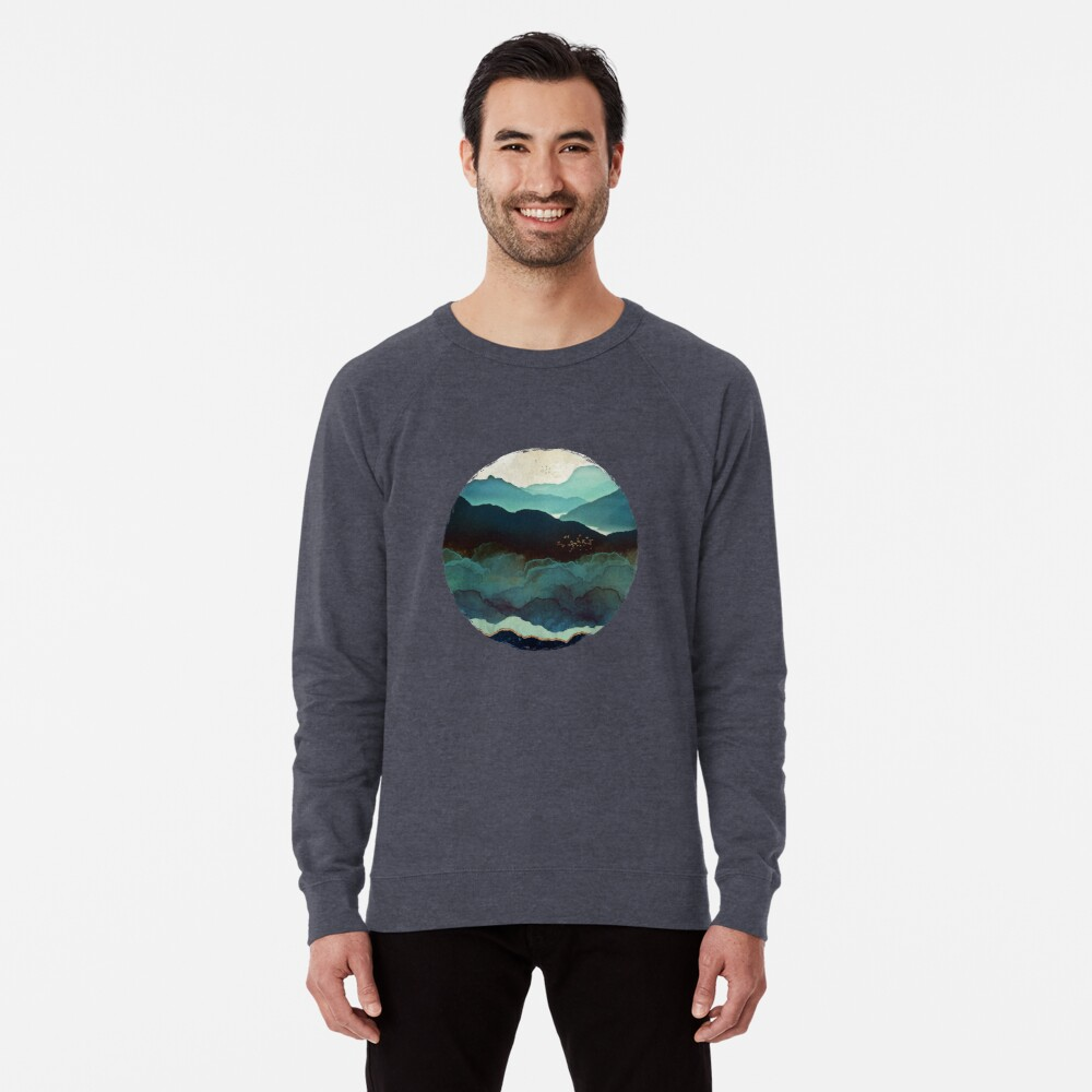 Indigo Mountains Lightweight Sweatshirt