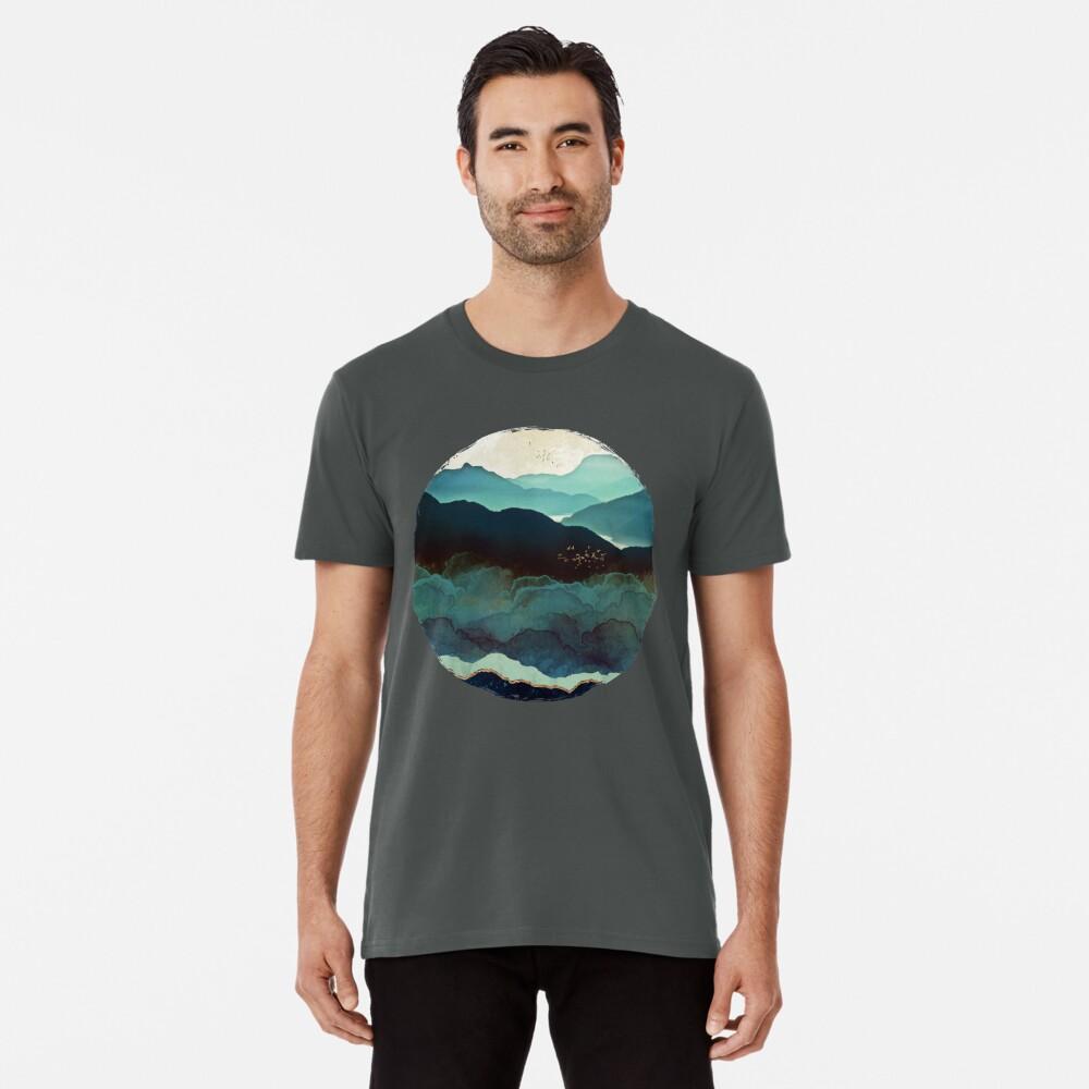 Indigo Mountains Premium T-Shirt