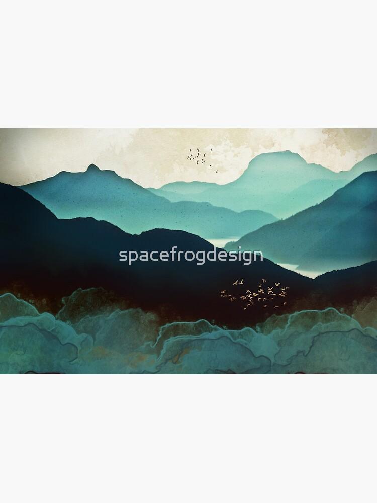 Indigo-Gebirge von spacefrogdesign