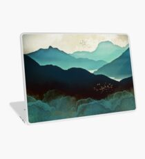 Indigo Mountains Laptop Skin