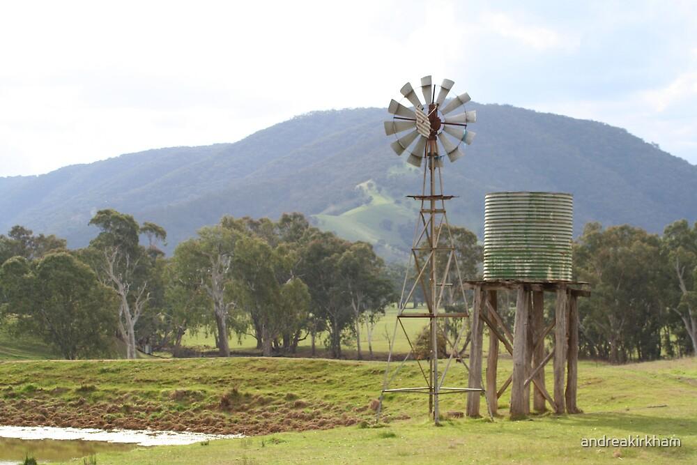 Riverview windmill by andreakirkham